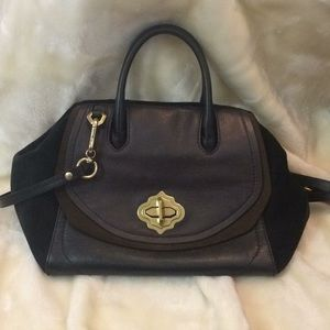 Oriani leather satchel